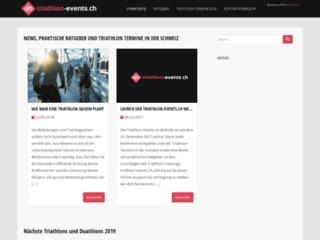 Actualités autour du triathlon en Suisse