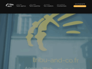 Détails : Agence Web à Tours (37 Indre-et-loire) : Tribu And Co