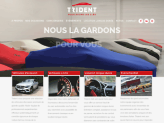 Trident: Vente de voitures d'occasion