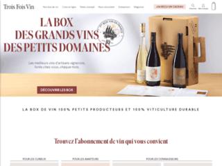Détails : Box vin