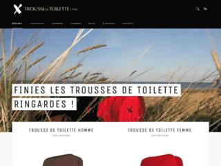 Détails : Boutique officielle Troussedetoilette.com : commander une trousse de toilette