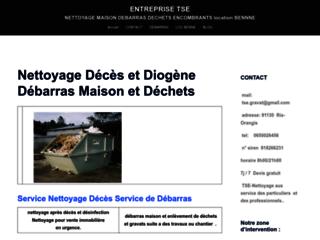 tse nettoyage après décès et diogene, débarras déchets