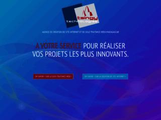 Détails : Tsingy Technologies, sous-traitant web à Madagascar