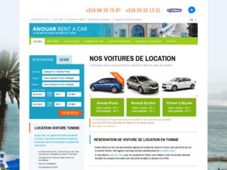Détails : Anouar Rent A Car, agence de location de voitures en Tunisie
