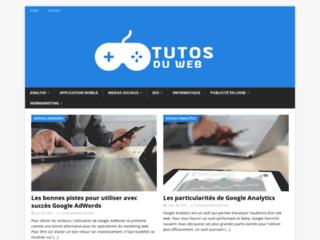 Des tutoriels gratuits sur le site Tutos du Web