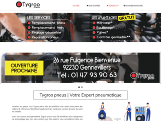 Détails : Tygroo, vente et montage de pneus neufs et d'occasions
