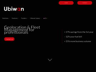 Ubiwan, vos solutions sur-mesure pour la gestion de votre parc automobile et d'engins professionnels