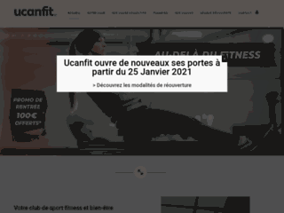 Ucanfit, salle de fitness ouverte 7j/7