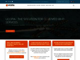 Détails : Avec UCOPIA, profitez pleinement de votre wifi