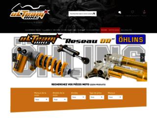ulteambike.com : des pièces de qualité pour équiper sa moto de racing