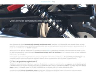 Tout savoir sur la suspension auto