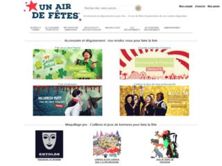 Détails : Accessoires de Déguisement : Un air de fêtes