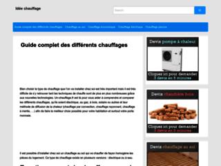 Détails : Chauffage