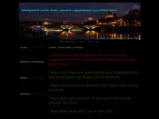 Détails : Meublé de tourisme sur Lyon-Villeurbanne.