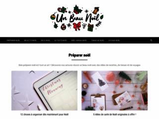 """Détails : Blog """"Un beau Noël"""""""