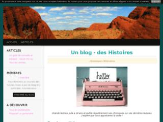 Un blog - une Histoire