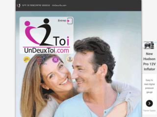 UnDeuxToi.com , site de rencontre sérieux