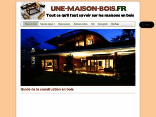 Détails : Guide de la maison bois en France