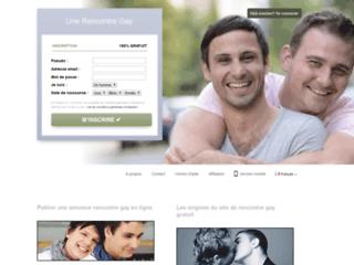 Détails : Unerencontregay : Un site de rencontre pour gays