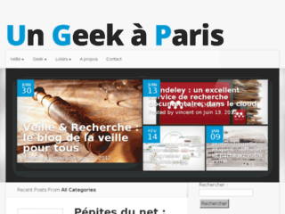 Un geek à Paris