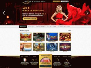 Détails : Unique Casino