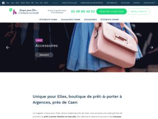 Détails : Boutique prêt-à-porter Argences, Caen