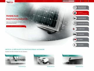 Uniteck, fabricant français de produits solaires