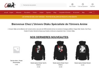La boutique en ligne univers-otaku