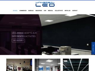 Détails : Eclairage Led pour magasin et vitrine - Universal LED