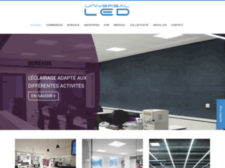 Eclairage Led pour magasin et vitrine - Universal LED
