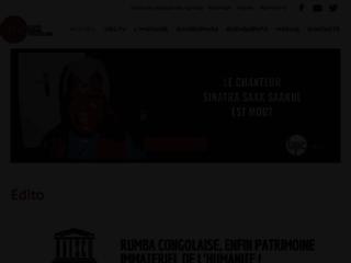 Univers rumba congolaise : l'encyclopédie de la rumba congolaise avec des interviews, des reportages...