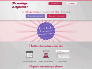 Détails : Un mariage à organiser : votre outil pour organiser facilement votre mariage