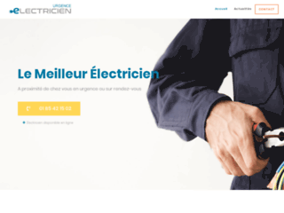 Le meilleur électricien de votre ville