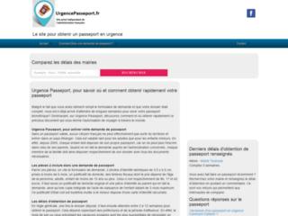 Demande rapide de passeport - UrgencePasseport.fr