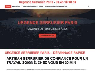 Urgence Serrurier Paris