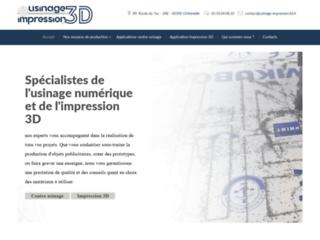 Usinage impression 3D