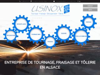 Tôlerie en Alsace: Usinox Industrie à votre service