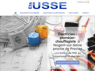 USSE : électricien, plombier, chauffagiste