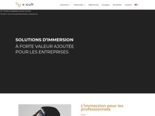 V-Cult: Web3D & Réalité virtuel