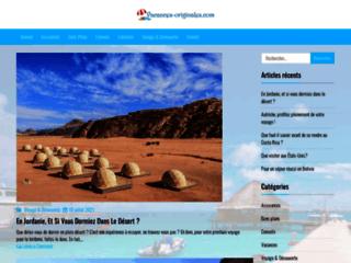 Détails : Liste location vacances originales