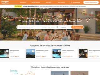 Détails : SeLoger Vacances, location de vacances