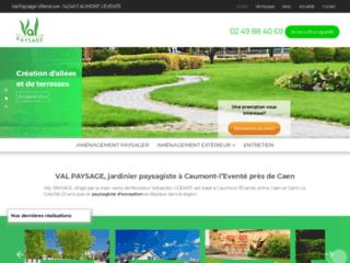VAL PAYSAGE, jardinier paysagiste à Caumont-l'Eventé près de Caen