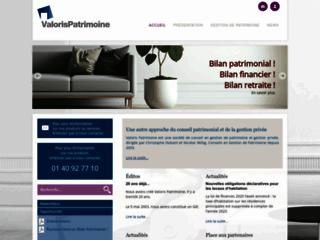 Détails : Valoris Patrimoine - gestion de patrimoine