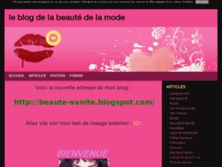 Blog de la beauté et de la mode