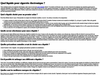 Détails : Distributeur cigarette electronique