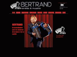 Détails : Bertrand et son accordéon