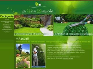 Détails : Ets Van Driessche : Tonte de pelouse et taille de haies sur le Hainaut