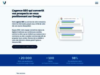 VelcomeSEO est une agence web à Toulouse spécialiste du référencement