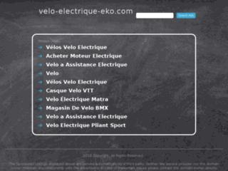 Détails : Vélo électrique Eko, la boutique du vélo électrique