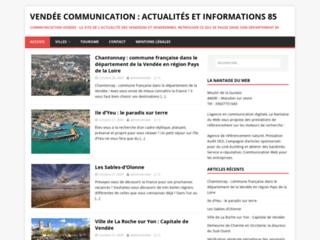 Site d'information sur la Vendée